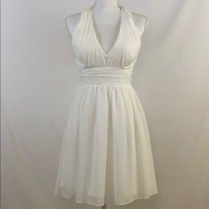 🦋Cache white dress